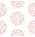 Nacreous pearl pink circles seamless pattern vector image vector image