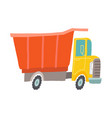 toy truck kids first toys baby shower vector image