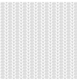 white knitted seamless pattern vector image vector image