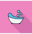 Bath icon vector image vector image