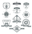 Car Repair Black White Badges vector image vector image