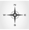 Compass world vector image