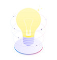 creative thinking and brainstorming vector image vector image