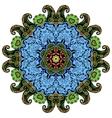 Hand-drawn mandala vector image vector image