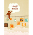 Social media vector | Price: 1 Credit (USD $1)