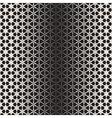 Triangular Star Shapes Halftone Lattice vector image