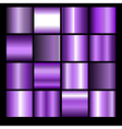 violet gradient backgrounds vector image vector image