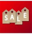 modern sale background vector image