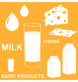 Dairy Product vector image vector image
