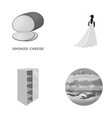decoration decor business and other monochrome vector image vector image