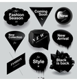 Fashion sale speech bubbles set vector image vector image