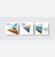 templates square white web banners standard size vector image vector image