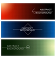Horizontal Banners Set vector image