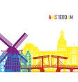 amsterdam skyline pop