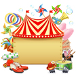 Circus Marquee vector image vector image