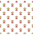Clown face pattern cartoon style vector image vector image