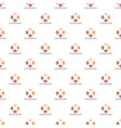 cohesion pattern seamless vector image vector image