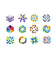 color decorative symbol vector image