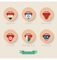 concept learning languages vector image