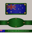 flag of australia vector image