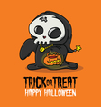 Halloween Trick or Treat Costume vector image