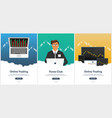 poster forex trading forex online online trading vector image