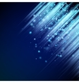 Shiny blue background EPS 10 vector image vector image