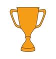trophy cup winner vector image