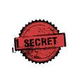 Secret stamp badges vector image
