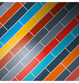 Abstract background - colorful rectangles vector image vector image
