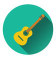 Acoustic guitar icon vector image vector image