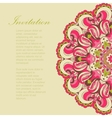 Beautiful pink arabesque lace pattern background