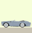 cabriolet classic car vector image vector image