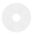 circle maze bg design making decision concept