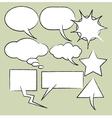 comics style speech vector image