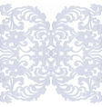 Elegant lacy feather decoration vector image vector image