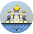 emblem Orthodox Church vector image vector image
