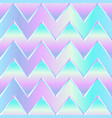 pastel color zigzag pattern vector image vector image