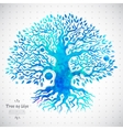 Unique ethnic tree of life vector image vector image