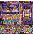 Bright seamless pattern Ethnic border abstract vector image vector image