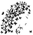 Butterfly floral vector | Price: 1 Credit (USD $1)