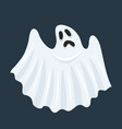ghost character halloween scary ghostly monster vector image vector image