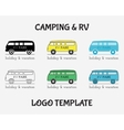 Outdoor Activity Travel Logo Vintage Labels design vector image vector image