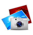 Realistic digital camera vector | Price: 3 Credits (USD $3)