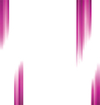 Straight pink lines background vector image vector image