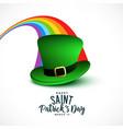 stylish saint patricks day background vector image