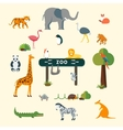 Animals and Zoo vector image