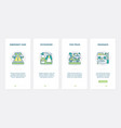 car service emergency line support ux ui vector image