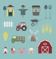 Farming icon vector image vector image