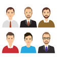 group of working people vector image